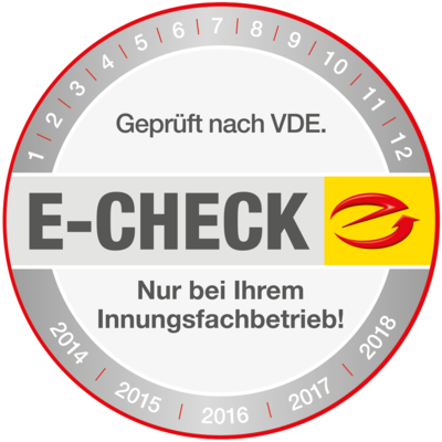 Der E-Check bei Elektrotechnik Minch in Riedenburg